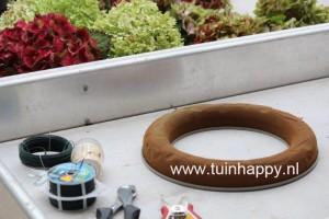 Tuinhappy.nl - hortensia krans maken