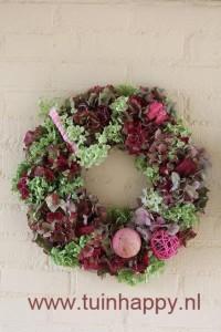 hortensiakrans in div. kleuren