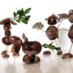 Beestjes van kastanjes