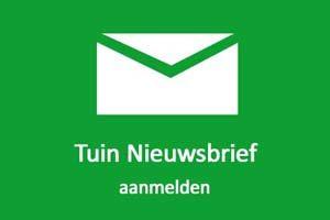 Aanmelden Tuin Nieuwsbrief