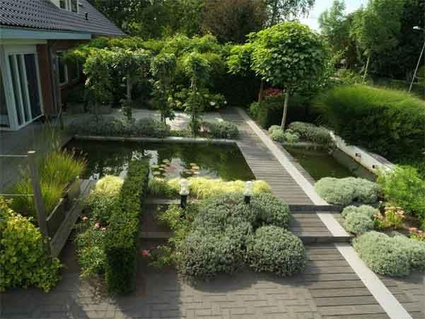 Tuinontwerp verschillende soorten tuinen welke past for Tuinaanleg modern