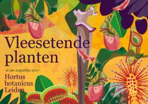 Tentoonstelling vleesetende planten Hortus Leiden