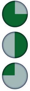 grijs of groen