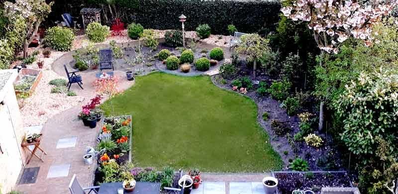 Watervriendelijke tuin
