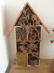 oris J - zelfgemaakt insectenhotel