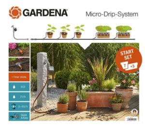 Gardena micro drop systeem voor planten in potten