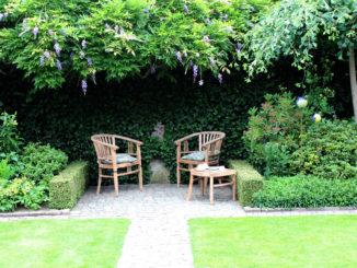 Voorbeeld onderhoudsvrije tuin