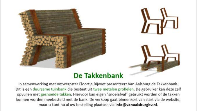 Tuinhappy.nl - Takkenbank van snoeiafval