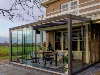Verasol - tuinkamer met glazen schuifwand