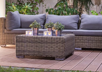 Tuinhappy - Wicker loungeset