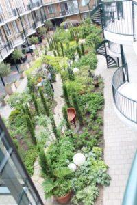 voorbeeld binnentuin