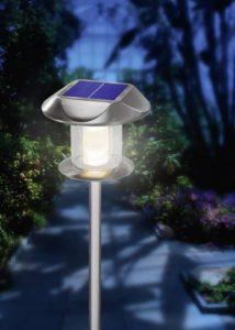 Solar tuinlamp met bewegingsmelder