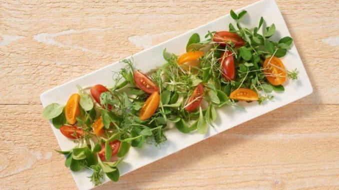 Kiemgroente in salades - Tuinhappy