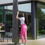 Hoes voor parasol - tuinhappy - tuinblogger - tuinblog