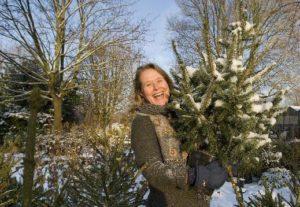 Kerstboom terugplanten tuinhappy tuinblogger blog tuin