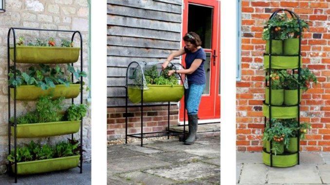 Vigoroot: balkonversie, kweektafel en tower garden